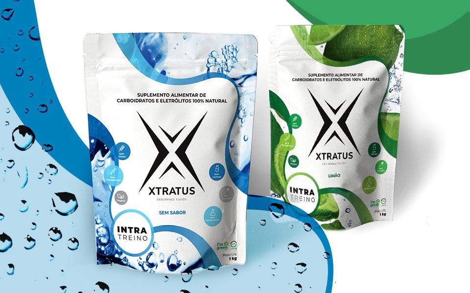 Xtratus adota novas embalagens stand-up pouch para sua linha de suplementos e escolhe a Camargo Embalagens